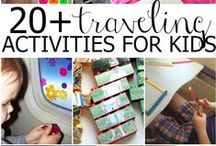 Traveling with Tots / Take a look at our favorite tips to make traveling with your little one's just a bit easier