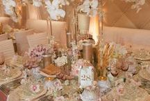 Tablescapes ♥ Center Pieces ♥ Dining Areas