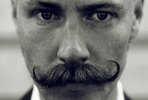 ɷ - mustache quod barba / The handlebar mustache... It's not right for every occasion.  Unless, that is, you find yourself drafted into an old-timy bare-knuckle boxing match... / by Doo Diddy