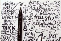 typografie & lettertypes / typography & fonts
