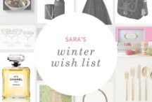 Winter Wish List: Sara / A Parisian-chic bounty of beauty and fashion wishes from Petunia's Marketing Coordinator / by Petunia