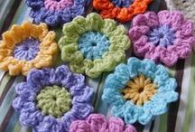 Crochet Flowers & Bows / by Jean Brittingham