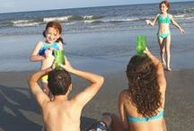 Kids at the Beach / We've collected fun craft and activity ideas so your kids have a great time before, during and after your Gulf County, FL vacation.