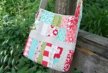 Free ~ Tote Patterns & Tutorials /  Patterns & Tutorials to Create Your Own One of a Kind Handbags / by Dinah Roberts