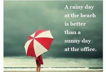Rainy Days at the Beach / We hope your Gulf County, FL vacation is full of sunshine and fun, but if a little rain should fall, we've collected some ways you can stay entertained until the sun comes back out.