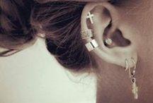 Ear piercings / by Didi P. de Tamez