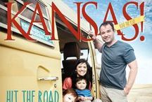 KANSAS! | Family Road Trip / Hit the Road with the Family in the 2015 summer edition of KANSAS!.  This board is filled with road trip inspiration and ideas.