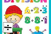 Learn Division / Children can have lots of fun while they learn to divide.  Laugh Along and Learn Pinterest, 'Learn Division Board' has been filled with lots of ideas to help.