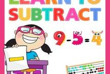 Learn To Subtract / Children can have lots of fun while they learn to subtract.  Laugh Along and Learn Pinterest, 'Learn To Subtract Board' has been filled with lots of ideas to help.