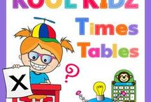 Kool Kidz Collection / Learning can be fun with The Kool Kidz Times Tables Collection. Everything you need to learn your times tables quickly and easily is featured in our Kool Kidz Bumper Packs.