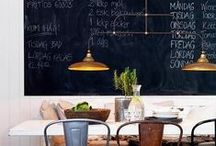 Chalkboard Paint / Looking to try something new with Chalkboard Paint? Here are a few creative ideas we suggest! Learn more about Benjamin Moore's Chalkboard Paint, available in thousands of colors: http://www.benjaminmoore.com/en-us/for-your-home/cool-things-to-do-with-chalkboard-paint  / by Benjamin Moore