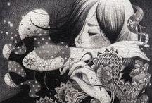 Illustration 01 / by Mari Lena ღ