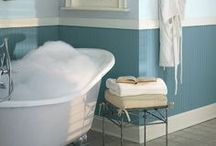 Beauty & The Bath / Make a splash with thousands of colors from Benjamin Moore. Specifically formulated to repel moisture and maintain color for years to come, Aura Bath & Spa is the perfect product for your bathroom. Learn more: http://www.benjaminmoore.com/en-us/for-your-home/paint-products/aura-bath-and-spa-waterborne-interior-paint / by Benjamin Moore