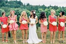 Mismatched Bridesmaids / by Southern Bride & Groom