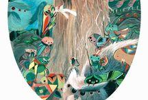 Illustration 02 / by Mari Lena ღ