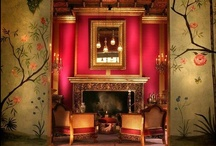 Decor / My husband and I will be purchasing our first house in a few months, so this is my decorative inspiration.  I'm pulling from many designs (Art Nouveau, Asian, Gothic, Moorish, Victorian - just to name a few), but they're all tied together with bold colors and intricate designs.  As a former lighting designer and scenic artist, I'm especially focused on artistic lighting and faux finishes.  Enjoy! / by Laura W
