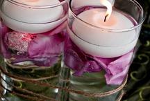 ...il fascino delle candele...