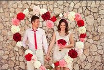 Valentine's Day Wedding Colors & Inspiration / by Southern Bride & Groom