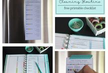 clean ::  cleaning routine / by Becky | Clean Mama