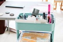 organize :: craft & hobby / by Becky | Clean Mama