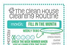 clean mama :: free printables / by Becky | Clean Mama