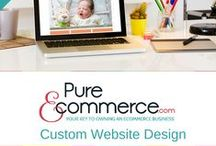 Custom Website Design / Have an idea for an online business but need help in making it a reality?  Pure-Ecommerce can design a custom internet site for you and we'll even provide you with 40 hours of consulting to get you started on the right foot! http://pure-ecommerce.com/