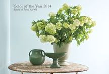 Color Trends 2014 / The new neutral palette, including Breath of Fresh Air 806, our 2014 Color of the Year! / by Benjamin Moore