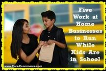 Work From Home Moms / Mom-preneurs rock!  Work from home moms are unstoppable.  Check out these ideas, tips and tricks for becoming a mom-preneur and how to handle it when you get there!