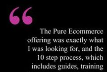 Pure-Ecommerce Reviews / We CARE about what our clients think and the experience they have with us.  Read Pure-Ecommerce reviews to see how our clients feel about our services.