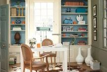 Work It! / You'll love going to work in these fabulous offices, big and small! / by Benjamin Moore
