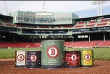 The Fenway Collection / Benjamin Moore celebrates its 12-year partnership with the Boston Red Sox with The Fenway Collection, a limited-edition collection of paints featuring the ballpark's five most iconic colors: Green Monster, Boston Blue, Boston Red, Baseline White and Foul Pole Yellow. #MonsterEverywhere Learn more at: www.MonsterEverywhere.com. / by Benjamin Moore