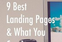 Perfect Landing Pages / Landing pages are critical to your success in ecommerce.  If your landing page doesn't convert you won't have sales.  Check out these ideas and tips for creating the perfect landing page.