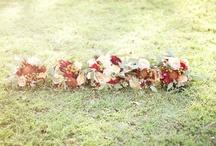wedding flowers. / by Jenni Hammock
