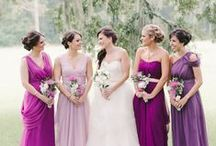 Purple Weddings / Gorgeous wedding details in shades of purple, from grape to lavender!