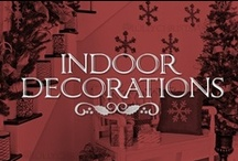 Christmas Decorations  / Deck the halls with these inspiring elegant holiday decorating ideas! / by Lolly Christmas
