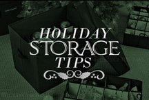 Storage Ideas  / The festive fun comes to an end every January, but that doesn't mean you shouldn't be prepared for the next holiday season! Pack up your beloved decoration treasures effectively with these organization tips. This will make things easier when you need them again! / by Lolly Christmas