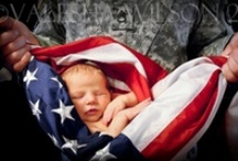 I ❤️ the USA / How blessed I am to live in this wonderful country! I owe it all to the heroic men & women who sacrifice their time and lives to protect the rights we hold dear. God Bless them and Keep them safe. To those who gave it all, I thank them. For God & Country.  / by Connie Rizzo-Turpin