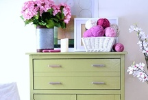Beyond Walls / Go beyond painting walls and see how painted furniture, doors and accessories can transform your home.