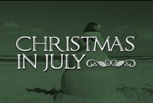 Christmas in July ☀ / Get ready for Christmas this summer by celebrating CHRISTMAS IN JULY! On this board you will find lots of food and decorating ideas for parties and your home, as well as a few fashion tips for you to take to the beach. Have fun and build a sand snowman! / by Lolly Christmas