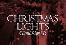 Christmas Lights ⭐ / Check out light decorating ideas or simply stare at all the twinkling beauty! / by Lolly Christmas