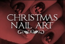 Christmas Nail Art  / I LOVE doing my nails for Christmas! If you are talented with nail art or go to get your nails done at the salon, here is some fun design inspiration right at your fingertips! / by Lolly Christmas
