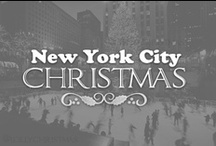 "NYC Christmas  / ""I'm sending you a merry New York Christmas and a prayer for peace on Earth within our time. Hear the sidewalk angels echo 'Halleluja!' ... Merry New York Christmas!"" / by Lolly Christmas"