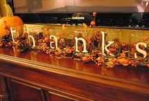 Thanksgiving /fall decor and crafts / by Deborah Finney