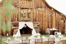 - RUSTIC/VINTAGE WEDDING -