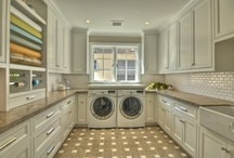 Laundry/Mud Rooms & Pantries  / Two things in homes that most people probably give little thought. Me...I go nuts over them!  I want them big, organized and over the top.