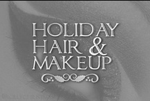 Holiday Beauty  / Find cute hairstyle and makeup ideas for holiday parties, your Christmas family portraits, if you're starring in your school holiday production, or simply because you want to incorporate the Christmas season into your everyday look! / by Lolly Christmas
