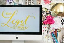 Blogging tips and ideas / A board to hold my ideas for a lifestyle, design, and fashion blog / by Emily Mantz