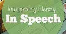 Literacy-based Speech / Literacy-based speech and language materials