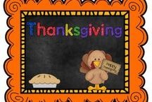 Thanksgiving / by The Teaching Resource Resort