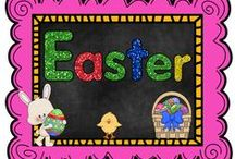 Lent, Holy Week & Easter / by The Teaching Resource Resort